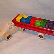 Куклы и игрушки handmade. Livemaster - original item Hardwood machine Kolovos. Handmade.