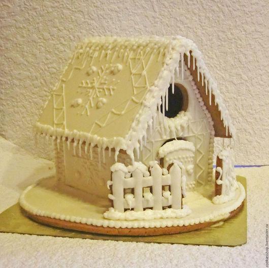 Кулинарные сувениры ручной работы. Ярмарка Мастеров - ручная работа. Купить Пряничный домик. Handmade. Белый, пряничный сувенир, специи