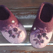 """Обувь ручной работы. Ярмарка Мастеров - ручная работа Тапотули """"Ежевичные"""" ВАРИАНТЫ. Handmade."""