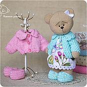 Куклы и игрушки ручной работы. Ярмарка Мастеров - ручная работа Игровой набор Мишка Малышка. Handmade.