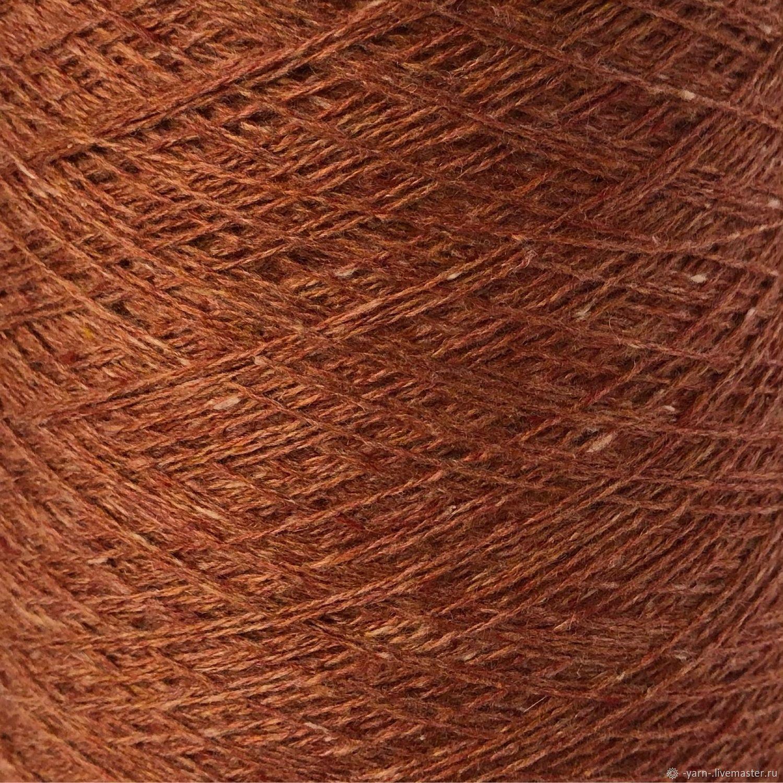 Пряжа Кашемир New tweed COARSEHAIR терракот – купить на Ярмарке Мастеров – NP1J4RU | Пряжа, Санкт-Петербург