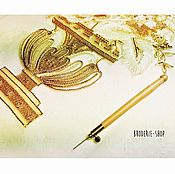 Материалы для творчества handmade. Livemaster - original item Luneville hook with needle N 90 from L`ecole Lesage. Handmade.