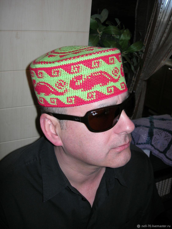 Summer hat 'Dinosauria - 4' (dinosaur-4), Caps, Moscow,  Фото №1