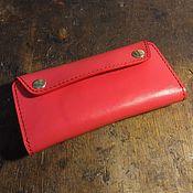 Сумки и аксессуары handmade. Livemaster - original item Women`s wallet genuine leather purse. Handmade.