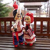 Куклы и игрушки ручной работы. Ярмарка Мастеров - ручная работа Куклы в украинском стиле.. Handmade.