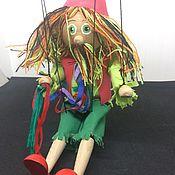 Кукольный театр ручной работы. Ярмарка Мастеров - ручная работа Марионетка, сувенир из Праги. Handmade.
