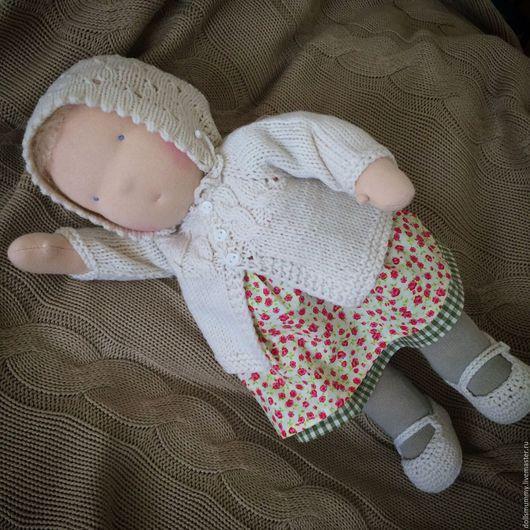 Вальдорфская игрушка ручной работы. Ярмарка Мастеров - ручная работа. Купить Вальдорфская кукла ( 38-40 см). Handmade.