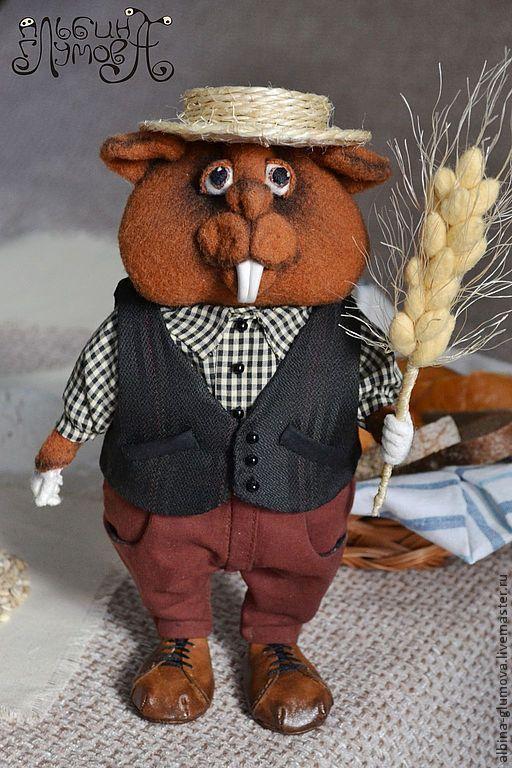 Игрушки животные, ручной работы. Ярмарка Мастеров - ручная работа. Купить СИЛЬВЕР морской свин, авторская интерьерная игрушка. Handmade.