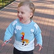 Работы для детей, handmade. Livemaster - original item Jumper Giraffe. Handmade.