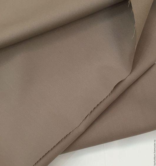 Шитье ручной работы. Ярмарка Мастеров - ручная работа. Купить Итальянская костюмная ткань. Handmade. Бежевый, 96% вискоза
