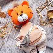 Сувениры и подарки handmade. Livemaster - original item Tiger Yashka. Symbol of the year 2022. Handmade.
