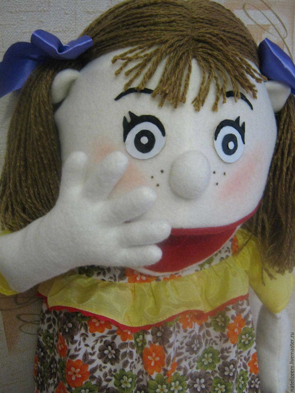 Как сделать чтобы у куклы открывался рот