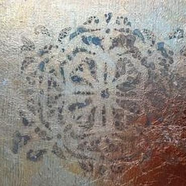 Diseño y publicidad manualidades. Livemaster - hecho a mano La doradura potalyu grabado potali del estilo de la vendimia. Handmade.