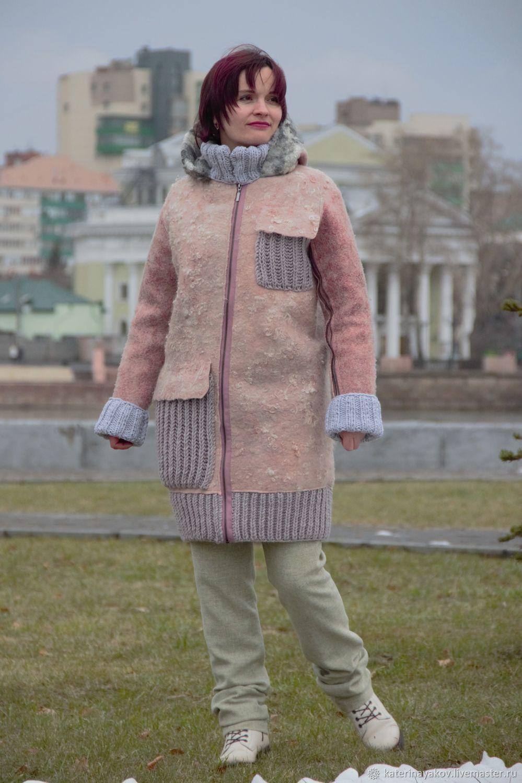 Пальто войлочное зимнее, Пальто, Москва, Фото №1