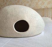 Для домашних животных, ручной работы. Ярмарка Мастеров - ручная работа Кошкин дом Белый. Handmade.