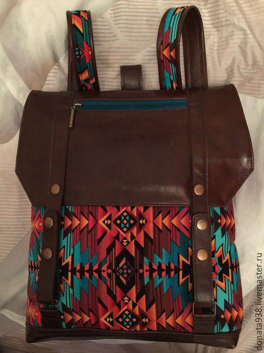 """Рюкзаки ручной работы. Ярмарка Мастеров - ручная работа. Купить Рюкзак """" Яркость"""". Handmade. Комбинированный, удобный рюкзак"""