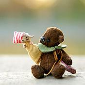 Куклы и игрушки ручной работы. Ярмарка Мастеров - ручная работа Мишка-кукольник. Handmade.