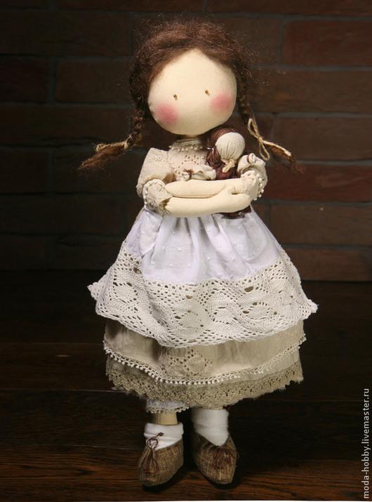 """Куклы и игрушки ручной работы. Ярмарка Мастеров - ручная работа. Купить Набор для шитья """"ЭКО-Кукла Варенька"""" Модное Хобби. Handmade."""