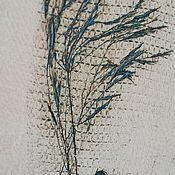 Картины и панно ручной работы. Ярмарка Мастеров - ручная работа Овес. Handmade.