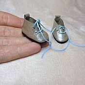 Материалы для творчества ручной работы. Ярмарка Мастеров - ручная работа Ботиночки для кукол. Handmade.