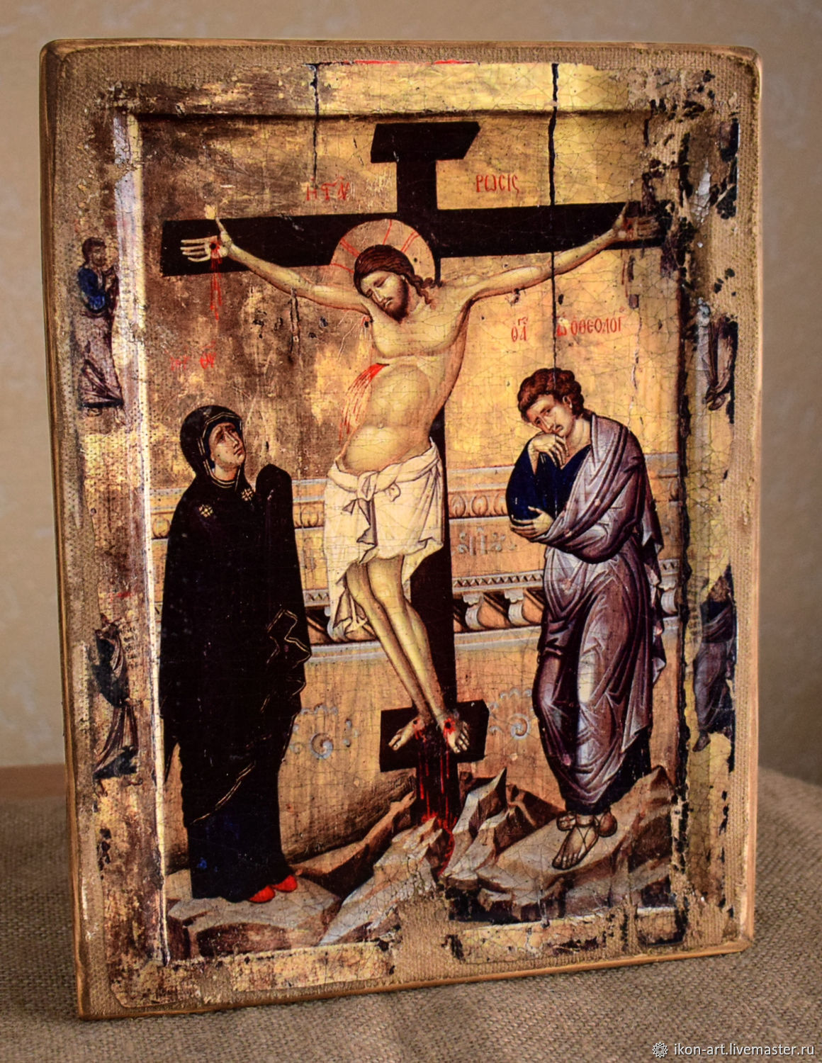 Icon 'the Crucifixion of Jesus Christ with the upcoming', Icons, Simferopol,  Фото №1
