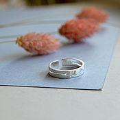 Украшения handmade. Livemaster - original item Silver ring with a bird. Handmade.