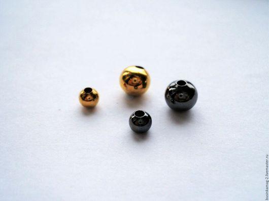 Для украшений ручной работы. Ярмарка Мастеров - ручная работа. Купить Разделители для бус литые пр-ва Гонконг 2 размера, 2 цвета - 10шт. Handmade.