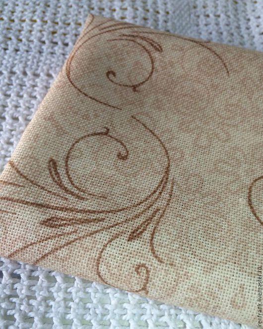 Другие виды рукоделия ручной работы. Ярмарка Мастеров - ручная работа. Купить Хлопок для обложек. Handmade. Хлопок, для кошелька, хлопок