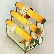 Для дома и интерьера ручной работы. Ярмарка Мастеров - ручная работа Подставка под браслеты Солнечный подсолнух. Handmade.