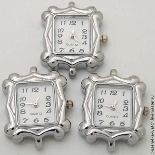 Для украшений ручной работы. Ярмарка Мастеров - ручная работа. Купить Основа для часов Рамка, античное серебро (1шт). Handmade.