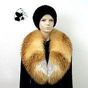Аксессуары handmade. Livemaster - original item Chic detachable fur collar from fur bright red Fox. Art.TK-487. Handmade.