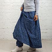 Юбки ручной работы. Ярмарка Мастеров - ручная работа Юбка - штаны теплая. Handmade.