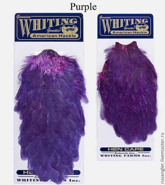 Другие виды рукоделия ручной работы. Ярмарка Мастеров - ручная работа. Купить Набор American Hen Cape and Saddle Set DOW Purple (42899254). Handmade.