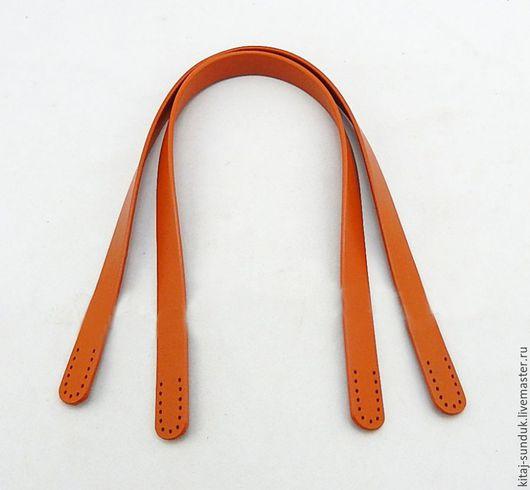 Другие виды рукоделия ручной работы. Ярмарка Мастеров - ручная работа. Купить Ручки для сумки 60 см кожа натуральная В ассортименте. Handmade.
