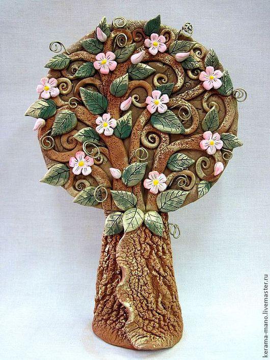 Элементы интерьера ручной работы. Ярмарка Мастеров - ручная работа. Купить Яблоневый цвет-2. Handmade. Древо жизни, цветочный