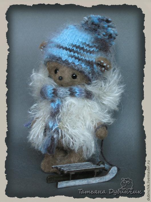 Мишки Тедди ручной работы. Ярмарка Мастеров - ручная работа. Купить Гоша. Handmade. Коричневый, мохер Германия