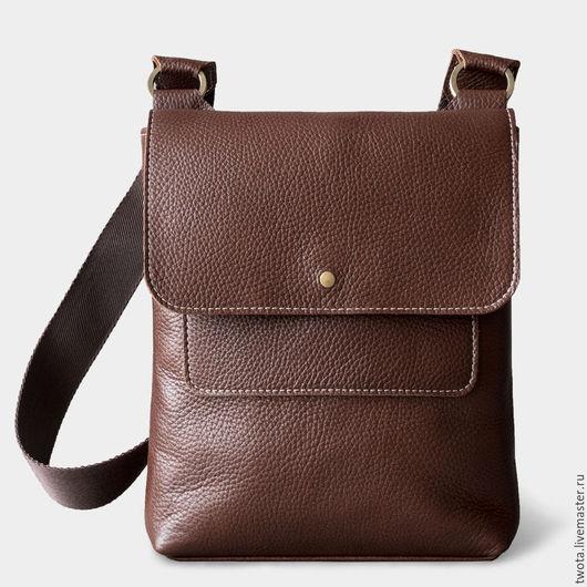 """Мужские сумки ручной работы. Ярмарка Мастеров - ручная работа. Купить сумка """"Paul"""". Handmade. Сумка, Кожаная сумка"""