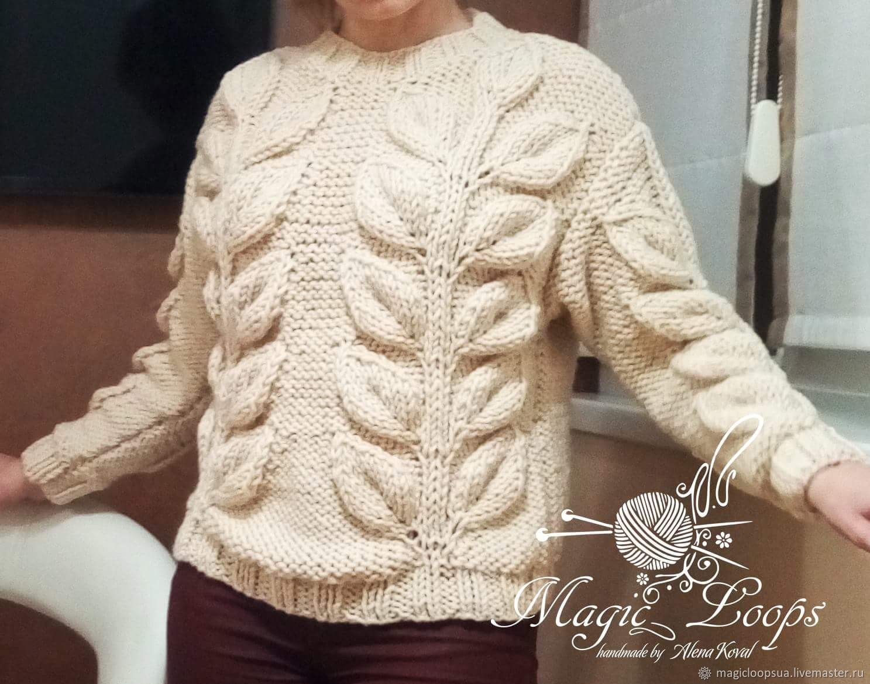 Suéter de punto hechos a mano de la calidad del hilado de la lana y ...