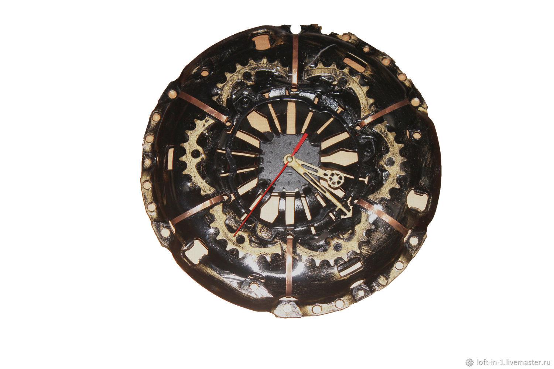 Часы в стиле лофт – заказать на Ярмарке Мастеров – KFUGCRU   Часы классические, Королев