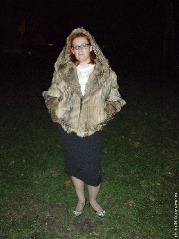 Верхняя одежда ручной работы. Ярмарка Мастеров - ручная работа. Купить Шуба из волка. Handmade. Волк, натуральный мех