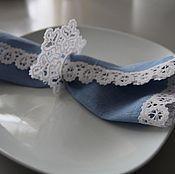 Для дома и интерьера ручной работы. Ярмарка Мастеров - ручная работа новогодняя салфетка. Handmade.
