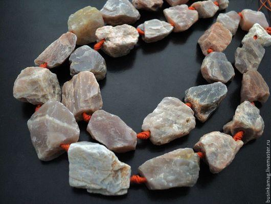 Для украшений ручной работы. Ярмарка Мастеров - ручная работа. Купить Солнечный камень бусины камни, нитка. Handmade.
