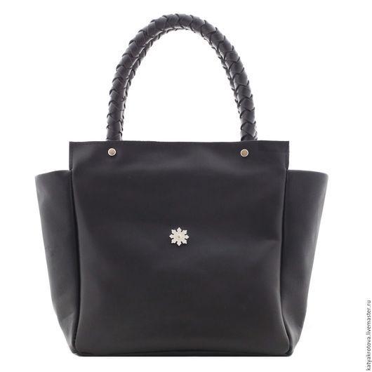 Женские сумки ручной работы. Ярмарка Мастеров - ручная работа. Купить Сумка черная Софи. Handmade. Черный, дизайнерская сумка