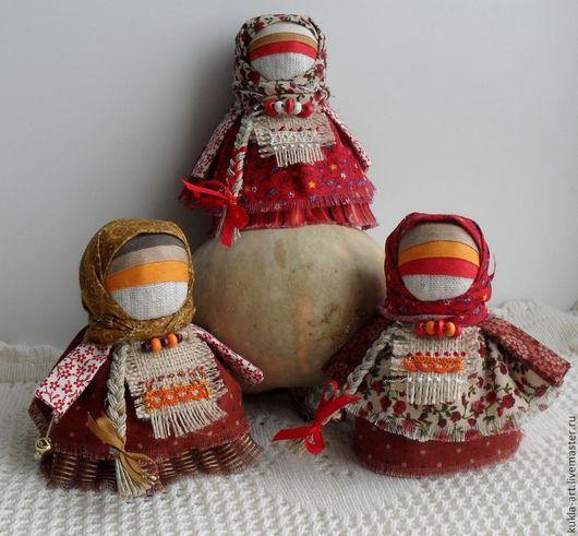 Народные куклы ручной работы. Ярмарка Мастеров - ручная работа. Купить Народная кукла: Коса - девичья краса. Handmade. Разноцветный