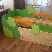 """Кровати ручной работы. Ярмарка Мастеров - ручная работа кровать """"Сказочный лес"""". Handmade."""