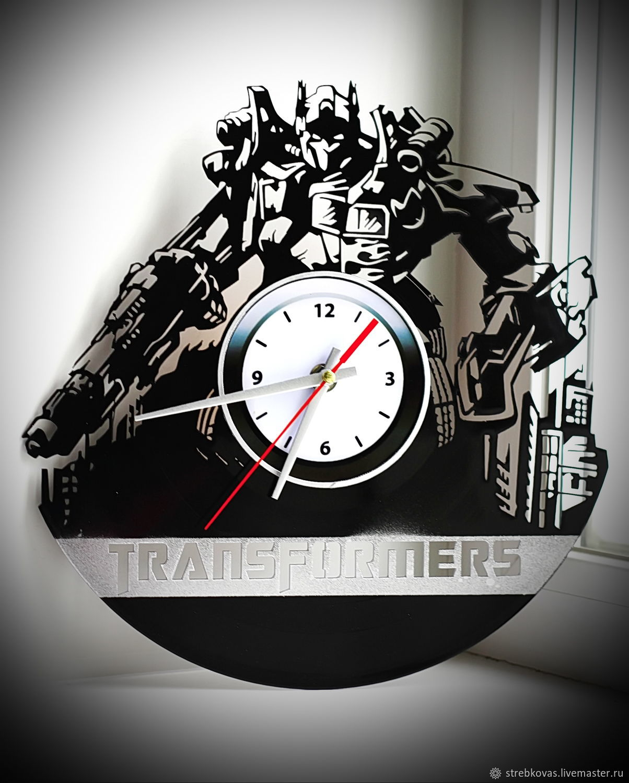 """Настенные часы """"Transformers"""", Часы, Красноярск, Фото №1"""