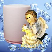 """Формы ручной работы. Ярмарка Мастеров - ручная работа Силиконовая форма для мыла """"Рождественский ангел"""". Handmade."""