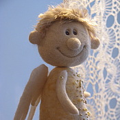 Куклы и игрушки ручной работы. Ярмарка Мастеров - ручная работа Ангел-колокольчик. Handmade.