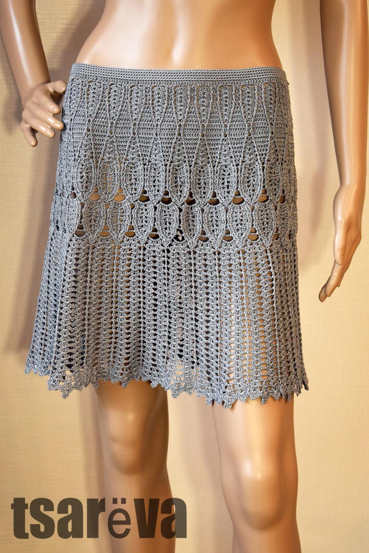 Crochet skirt Lucy. Handmade women summer crochet skirt, Skirts, Odessa,  Фото №1
