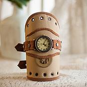 Украшения ручной работы. Ярмарка Мастеров - ручная работа Наручные стимпанк часы. Handmade.